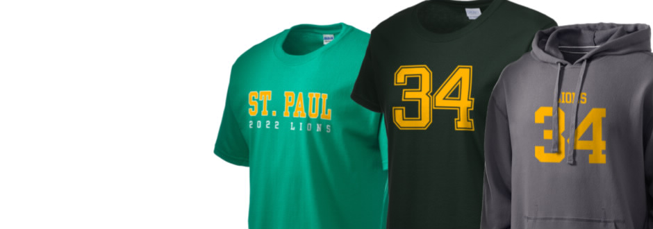 Saint Paul School Lions Apparel