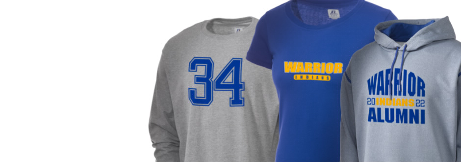 Warrior School Indians Apparel