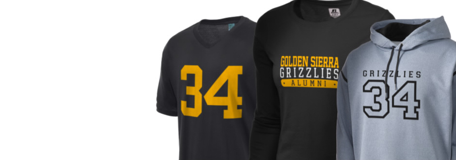 Golden Sierra High School Grizzlies Apparel