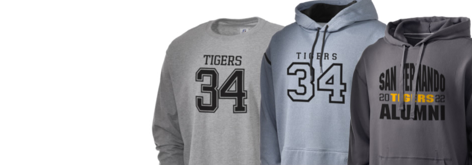 San Fernando High School Tigers Apparel