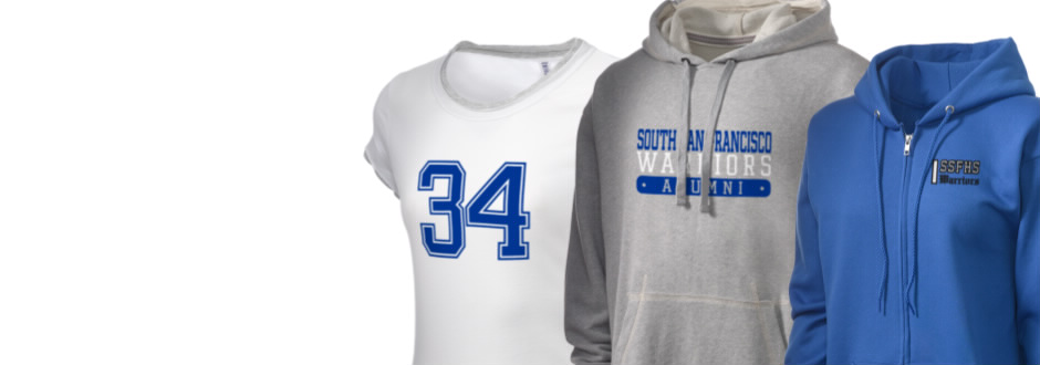 South San Francisco High School Warriors Apparel