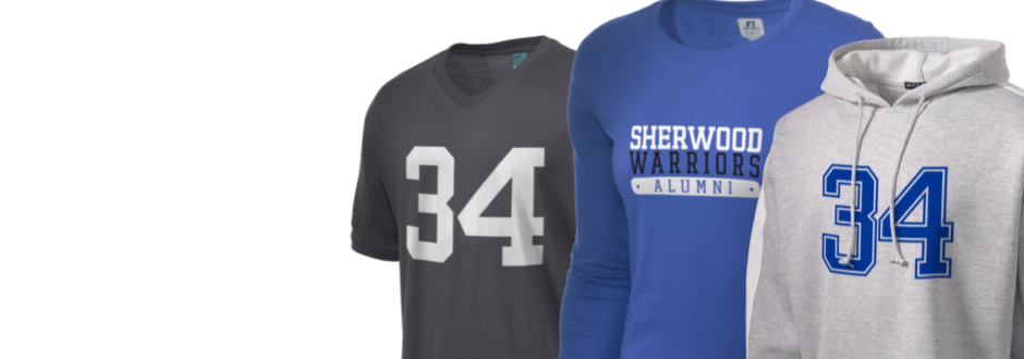 Sherwood High School Warriors Apparel
