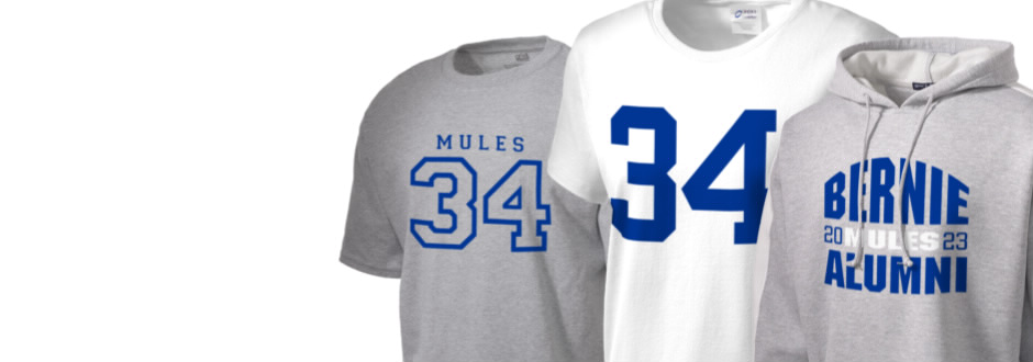 Bernie High School Mules Apparel