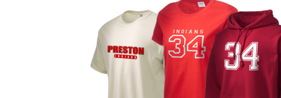 Preston Junior High School Indians Apparel