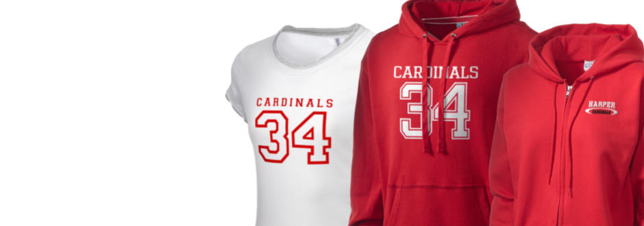 Harper High School Cardinals Apparel