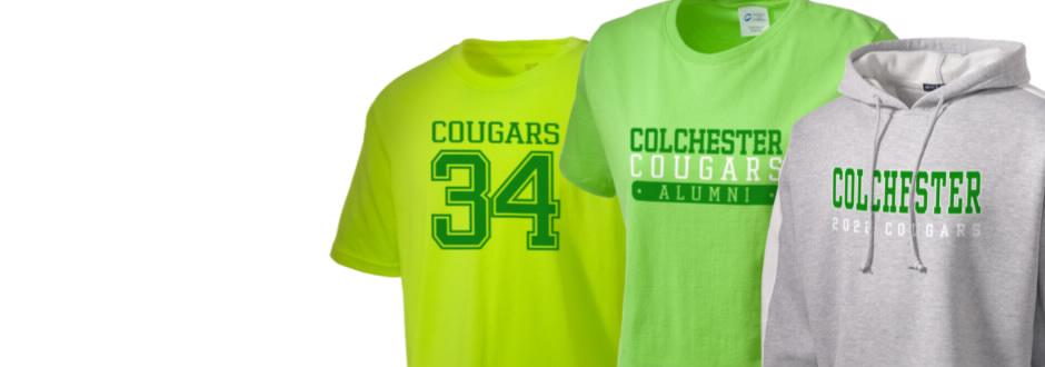 Colchester Middle School Cougars Apparel