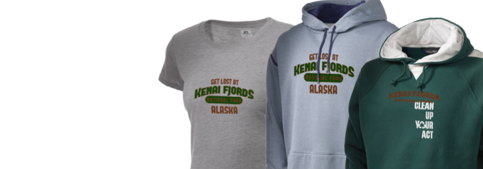 Kenai Fjords National Park Apparel