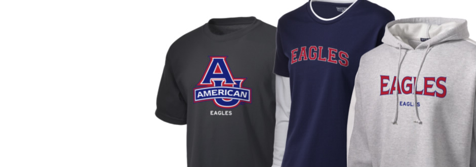 American University Eagles Apparel