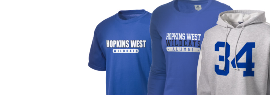 Hopkins West Junior High School Wildcats Apparel
