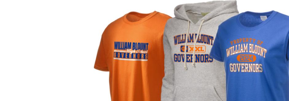 william blount high school governors apparel store prep