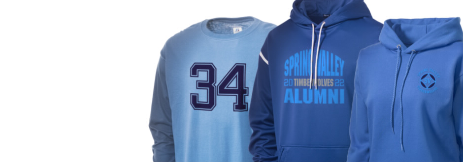 Spring Valley High School Timberwolves Apparel