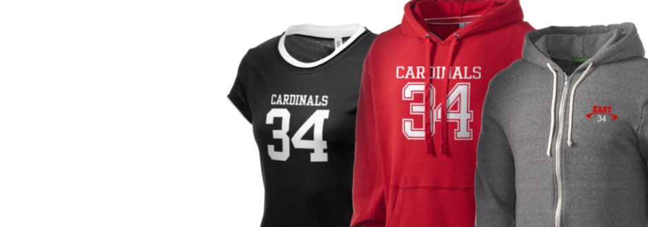 Pocono Mountain East High School Cardinals Apparel