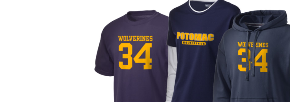 Potomac High School Wolverines Apparel