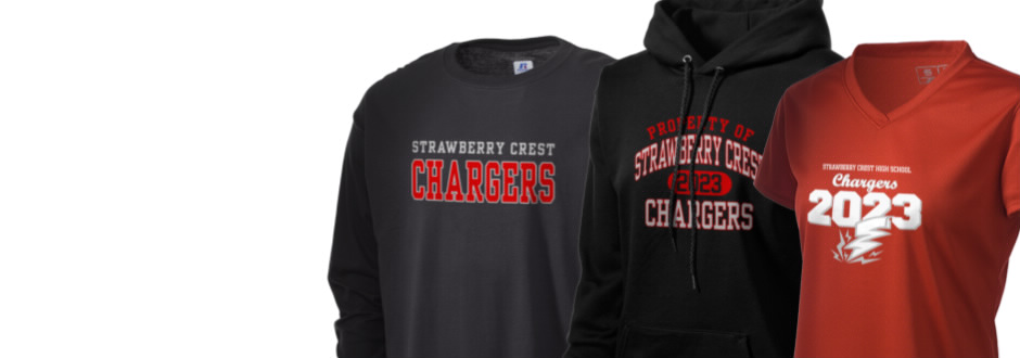 Strawberry Crest High School Chargers Apparel Store Prep