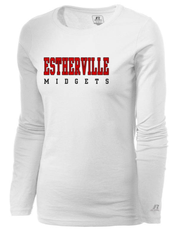 estherville women Buy your women's estherville lincoln central high school midgets shirts apparel online estherville lincoln central t-shirts, midgetshoodies, high school sweatshirts, estherville track & field warm-ups, midgets baseball hats, school mugs and more.