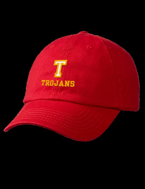 Tara High School Trojans Embroidered Garment Washed Twill