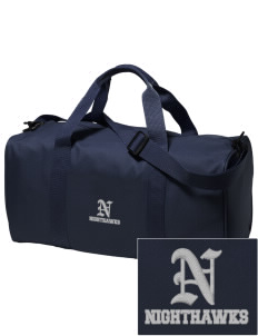 Ironwood Ridge High School Nighthawks Embroidered Holloway Duffel Bag