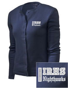 Ironwood Ridge High School Nighthawks Embroidered Women's Cardigan Sweater
