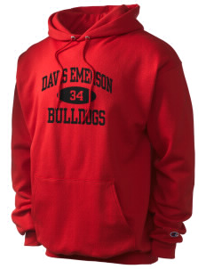 Davis Emerson Middle School Bulldogs Champion Men's Hooded Sweatshirt