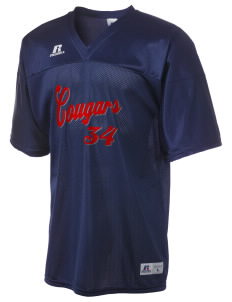 Sutter Middle School Cougars  Russell Men's Replica Football Jersey