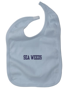 Corona Del Mar Junior High School Sea Weeds Baby Interlock Bib