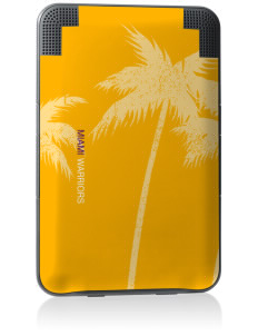 Miami High school Warriors Kindle Keyboard 3G Skin