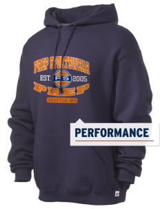 Prep Sportswear Russell Men's Dri-Power Hooded Sweatshirt