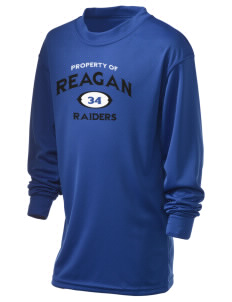 REAGAN HIGH SCHOOL Raiders Holloway Kid's Performance Spark Long Sleeve T-Shirt