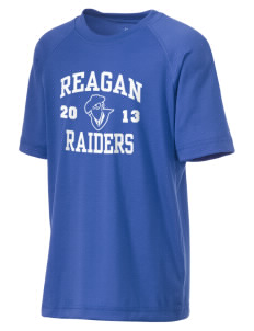 REAGAN HIGH SCHOOL Raiders Kid's Ultimate Performance T-Shirt