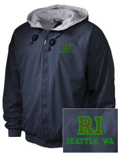 Ratio Interactive Seattle, WA Embroidered Holloway Men's Hooded Jacket