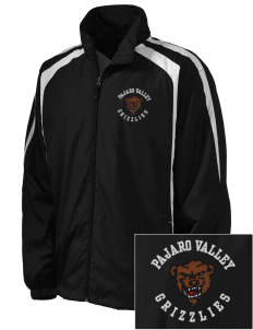 Pajaro Valley High School Grizzlies Embroidered Men's Colorblock Raglan Jacket