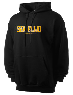 San Elijo Middle School Golden Eagles Men's 7.8 oz Lightweight Hooded Sweatshirt