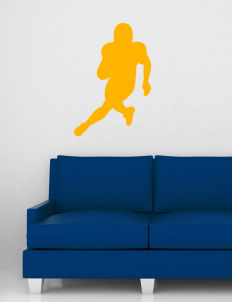 "San Elijo Middle School Golden Eagles Wall Silhouette Decal 20"" x 32"""