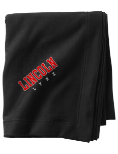Lincoln High School Lynx  Sweatshirt Blanket