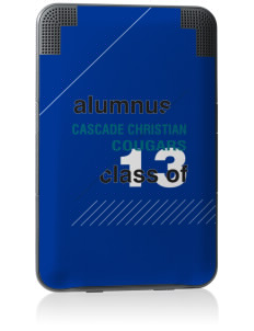 Cascade Christian School Cougars Kindle Keyboard 3G Skin