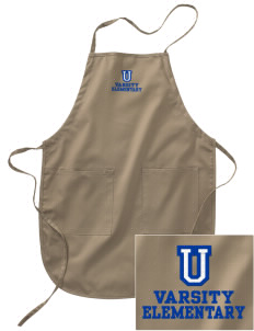 Undermountain Elementary Embroidered Full Length Apron