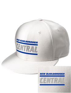 New Marlborough Central  Embroidered New Era Flat Bill Snapback Cap
