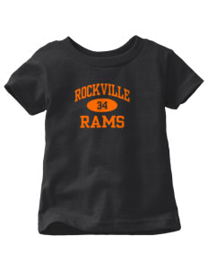 Rockville High School Rams  Toddler Jersey T-Shirt