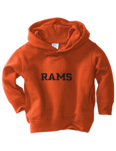 Rockville High School Rams  Toddler Fleece Hooded Sweatshirt with Pockets