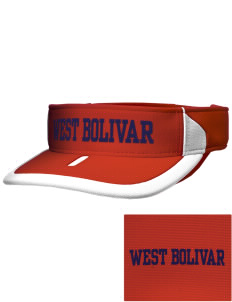 West Bolivar High School Eagles Embroidered M2 Sideline Adjustable Visor