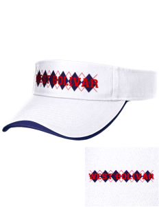 West Bolivar High School Eagles Embroidered Binding Visor