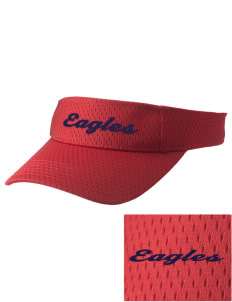 West Bolivar High School Eagles Embroidered Woven Cotton Visor