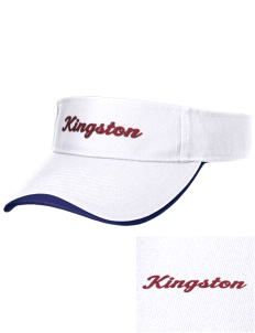 Kingston High School Buccaneers Embroidered Binding Visor