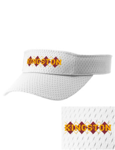 Kingston High School Buccaneers Embroidered Woven Cotton Visor
