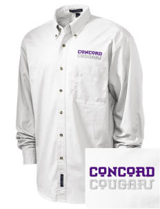 Concord Elementary School Cougars Embroidered Tall Men's Twill Shirt