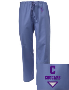 Concord Elementary School Cougars Embroidered Scrub Pants