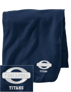 Tuscarora High School Titans Embroidered Holloway Stadium Fleece Blanket
