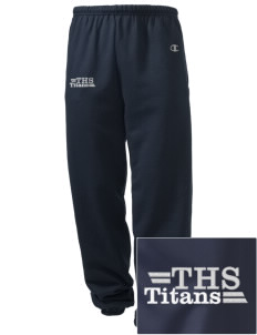 Tuscarora High School Titans Embroidered Champion Men's Sweatpants