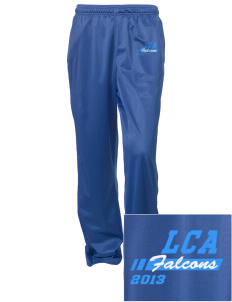 Lakeside Christian Academy FALCONS Embroidered Women's Tricot Track Pants
