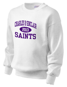 Charles B Sinclair Middle School Saints Kid's Crewneck Sweatshirt